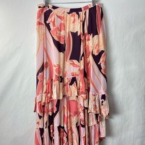 Free people bring back summer maxi skirt 6 NWOT